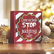 judging santa sign