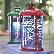 solar christmas lantern
