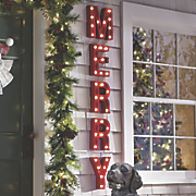 Merry Marquee Lights