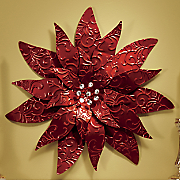 Poinsettia Wall Art