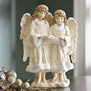 angel duet figurine