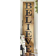 believe sign nc