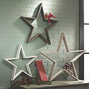 Set of 3 Christmas Stars