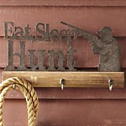hunter s motto sign