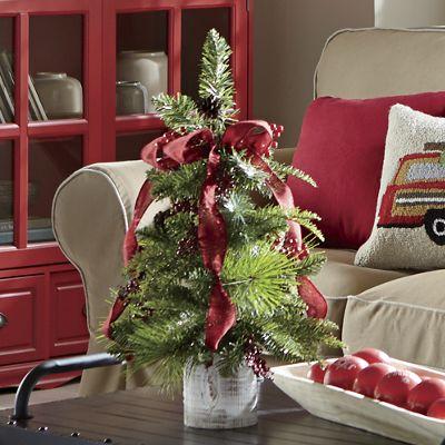Evergreen Ribbon Tree from Midnight Velvet 728732
