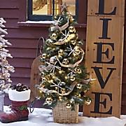 Decorated Pre-Lit Tree