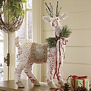 Rustic Deer Figurine