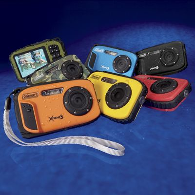 Xtreme3 Digital Waterproof Camera by Coleman