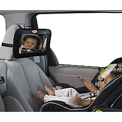 nuby full view backseat baby mirror