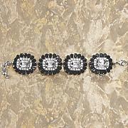 crystal frame bracelet