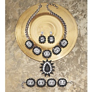 crystal frame jewelry