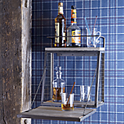 wall mounted liquor cabinet