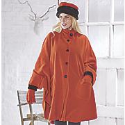fleece cape set