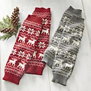reindeer legwarmers