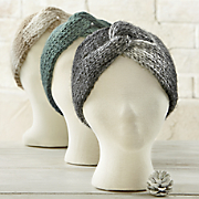 wide knit headband
