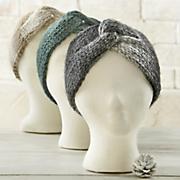 wide knit headband