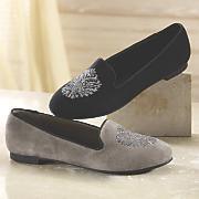 crystal shoe