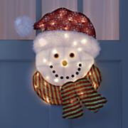 Lighted Snowman Head