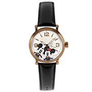 personalized disney s mickey and minnie watch