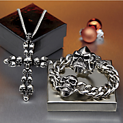 Stainless Steel Skull Jewelry