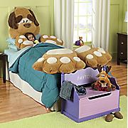 5 piece dog pillow set