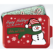 personalized holiday cake pan