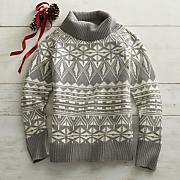 telluride jacquard sweater