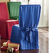 jeweltone stripe chair cover