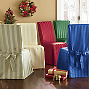 jeweltone stripe chair cover