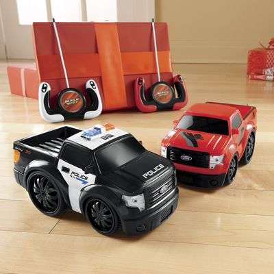 Set of 2 Remote Control Ford F150 Trucks