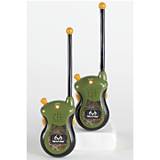 set of 2 realtree camo walkie talkies