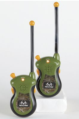 Set of 2 Realtree Camo Walkie-Talkies