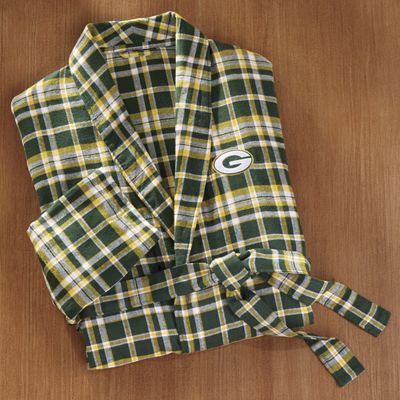 NFL Bleacher Flannel Robe