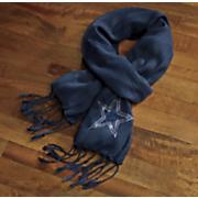 nfl crystal pashmina scarf