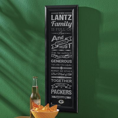 NFL Personalized Family Frame