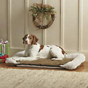 heated orthopedic medium pet bed