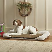heated orthopedic large pet bed