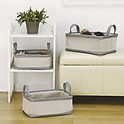 s 3 rectangular storage baskets