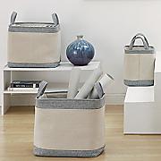 s 3 rectangular baskets