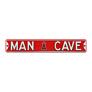 mlb man cave street sign