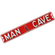 mlb man cave street sign