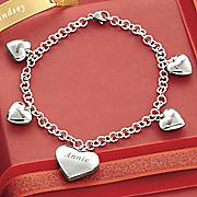 Charming Hearts Family Bracelet