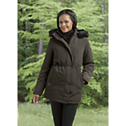 hooded  insulated parka by forecaster of boston