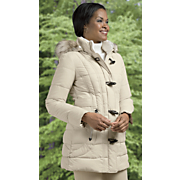 puffer toggle coat by laundry by design