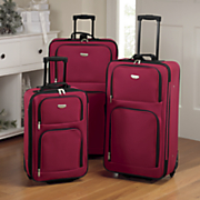 3 piece expandable luggage set