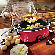 ginny s brand 6 qt  slow cooker