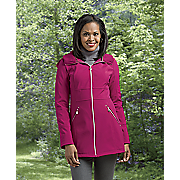 Hooded Softshell Parka by Betsey Johnson