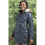 puffer coat by laundry by design