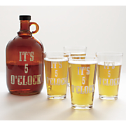5 pc  it s 5 o clock moonshine set