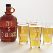 5 pc  it s 5 o clock moonshine set